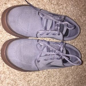 Grey and brown Nike